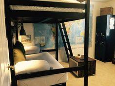 Ikea target hacks for a teen boys bedroom cbc designs Ikea Bedroom, Boys Bedroom Decor, Bedroom Loft, Bedroom Ideas, Bed Ideas, Bedroom Hacks, Decor Ideas, Loft Ideas, Trendy Bedroom