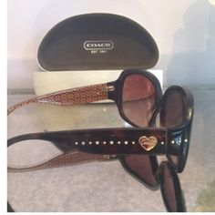 Coach Sunglasses!! No damage sunglasses by Coach, comes with box! Perfect look for this summer!! Coach Accessories Sunglasses