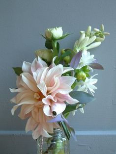 absolutely beautiful things: January 2008Love the Dahlia and the tuberose