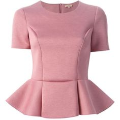 Designer Clothes, Shoes & Bags for Women Classy Work Outfits, Modest Outfits, Work Dresses For Women, Clothes For Women, Red Peplum Tops, Latest African Fashion Dresses, Minimal Fashion, Blouse Designs, Fashion Outfits
