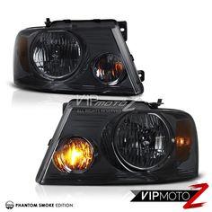 2004 2005 2006 2007 2008 Ford F150 Lobo Pick Up Truck Smoke Headlights Headlamps #VIPMOTOZ