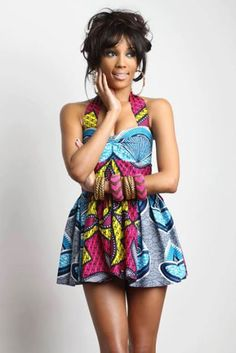 bfb4d8ad2a Simple Ankara Short Dresses Pagne Africain, Tissu Africain, Tenue  Africaine, Afrique, Mode
