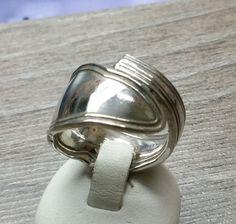 Nostalgischer Ring  Silberbesteck 19,5 mm SR512 von Atelier Regina  auf DaWanda.com