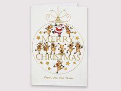 Santa and Reindeers - Christmas Cards, Merry Christmas, Santa And Reindeer, Christmas E Cards, Merry Little Christmas, Happy Merry Christmas, Wish You Merry Christmas, Christmas Card Sayings, Christmas Greetings