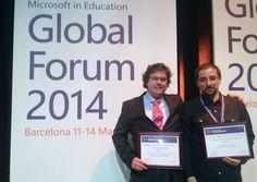 Dois professores portugueses premiados no Concurso Mundial de Professores Inovadores da Microsoft - Wintech