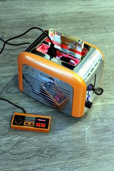 Nintoaster: An actual, functional NES system that looks like a toaster