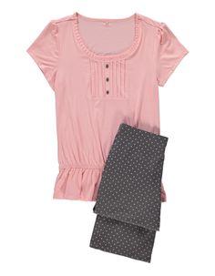 Pintuck Pyjama Set | Women | George at ASDA