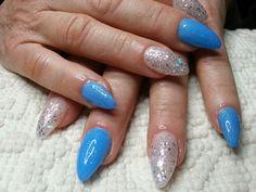 azzurro cielo ♡♥♡viviana nails