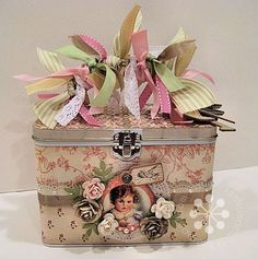 G45 Lil Darlings altered tin