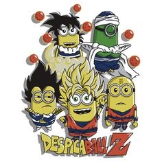 Despicable Me Minions Movie Dragon Ball Z Mashup