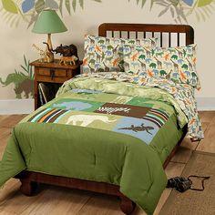 Animal Safari Bedding Set - Disney Comforter Sheets Twin Bed