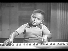 """Caledonia""  Native Detroiter Frank ""SugarChile"" Robinson! Child musical prodigy in the 1940's, PhD in Psychology from the University of Michigan in the 1960's - still going strong at 73."