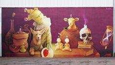 Street Art – Tous les murs du festival POW! WOW! 2014 ! (image)