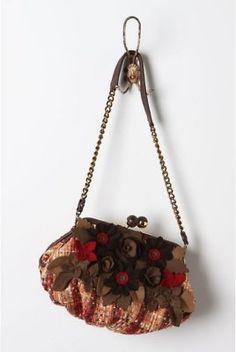 Anthropologie Saved For You Clutch Bag Handbag, Lockheart