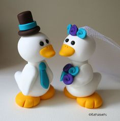cute ducks on cake? perhaps have something special made from altoona lady?