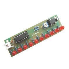 NE555 + CD4017 LED Flash DIY Kit 3-5V Light LED Module