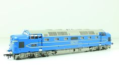 Deltic diesel n - A beautifully detailed locomotive and a great runner. I have fitted mine with a dcc decoder and it performs flawlessly.