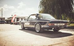 1969 BMW E9 2800CS. (via LowSociety)