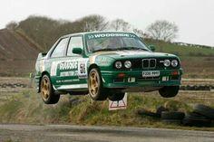 BMW M3 e30 rally car