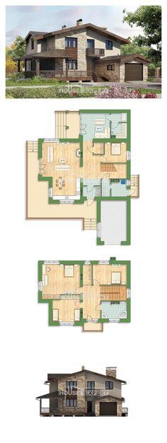Ev villa projesi 220-001-L | House Expert