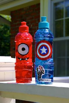Life Sprinkled With Glitter: Fun Personalized Water Bottles
