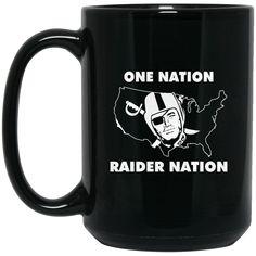 Oakland Raiders Mug One Nation Raider Nation Coffee Mug Tea Mug Oakland Raiders Mug One Nation Raider Nation Coffee Mug Tea Mug Perfect Quality for Amazing Pric