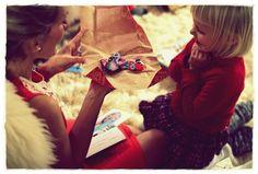 Johanna and Aino on christmas eve @ Kalastajan vaimo #Lumoan