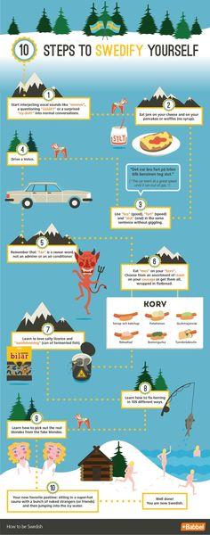 10 Steps to Swedify Yourself http://www.babbel.com/magazine/swedify-yourself