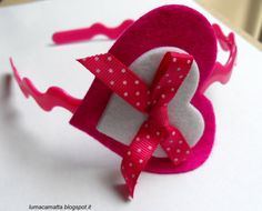 Lumaca Matta - Handmade with love: Cerchietti per capelli parte II