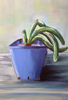 my pot(acrylic)