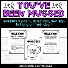 You've Been Mugged Staff Morale Fun Coworker DIY Gift Ideas Staff Sunshine