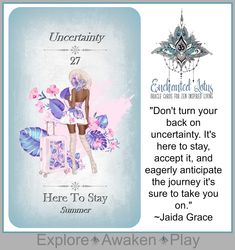 Enchanted Lotus - 45 Oracle Cards for Zen Inspired Living Page Printed Book (plus a bonus 124 page Ebook! Spiritual Guidance, Oracle Cards, Decks, Enchanted, Tarot, Lotus, Poppies, Affirmations, Zen