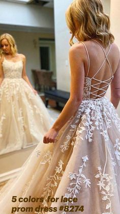 Grad Dresses Long, Pretty Prom Dresses, Sweet 16 Dresses, Formal Dresses For Weddings, Tulle Prom Dress, Best Wedding Dresses, Tulle Lace, Beaded Lace, Dresses For Parties