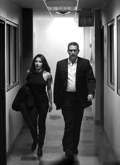 Person of Interest - Reese and Shaw when those two are together the temp drops about 20 degrees