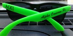 Alpha Omicron Pi sunglasses