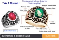 We offer a wide range of gold military rings, marine corps rings, and veteran army rings in USA. You can design and purchase from our unique collection at Military Rings Online. Military Retirement, Military Gifts, Military Army, Us Navy Rings, Gold And Silver Rings, Usmc Ring, Marine Corps Rings, Army Rings, Military Jewelry
