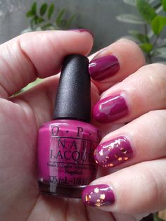 Weekend Getaway with OPI Get Cherried Away