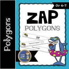 Polygons ZAP $ gr 4-7