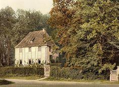 1890-1900 - Weimar. Goethe's Garten Haus
