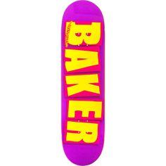 Brand new Baker Brand Logo Deck - now at Warehouse Skateboards! #skateboards #whskate