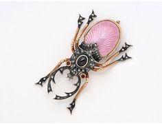 [Addendum] An Enamel, Diamond and Garnet Stag Beetle Brooch « Dupuis Fine…