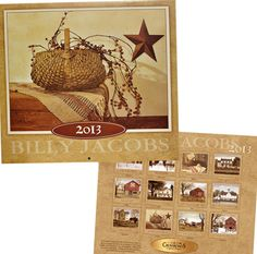 Billy Jacobs 2013 Calendar - Kruenpeeper Creek Country Gifts