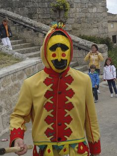 El Colacho Unmasked: An interview with Pancho, one of the young men who played the role of the Devil at the El Colacho baby jumping festival in Castrillo de Mucia, Spain. Murcia, Festival Costumes, Young Man, Anime, Men, Devil, Fictional Characters, Interview, Europe