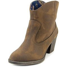 Rocket Dog Soundoff Women Round Toe Synthetic Brown Ankle Boot >>> Click on the image for additional details.