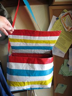 Colorful Duct Tape Bags for Kids   101 Duct Tape Crafts
