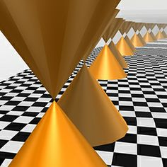 AIMResearch - research highlights - Spin electronics: Mirror, mirror on the wall Unlike conventional topological insulators, the electronic states of those made from crystalline tin telluride assume a 'double cone' shape