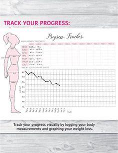 A5 Planificador de FITNESS Fitness Journal Health y por EllagantInk