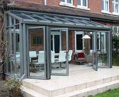 A guide to choosing, prices and installation of lean to conservatories. This buyers guide contains all the information you need know to choose the correct lean to conservatory for you. Conservatory Prices, Lean To Conservatory, Conservatory Extension, Glass Conservatory, Conservatory Design, Garden Room Extensions, House Extensions, Moderne Lofts, Curved Pergola