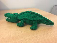 #crochet, free pattern, Amigurumi : Crocodile, stuffed toy, #haken, gratis patroon (Engels), krokodil, knuffel, speelgoed, #haakpatroon