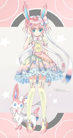 Pokemon+XY+-+Sylveon(+SpeedPaint)+by+Ayasal.deviantart.com+on+@DeviantArt